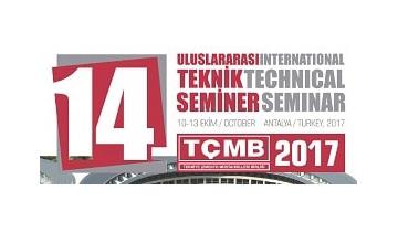 14th TÇMB International Technical Seminar & Exhibition