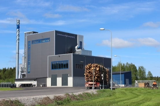 Turboden cogenerative biomass plant in Finland