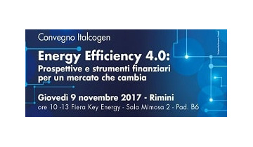 "Italcogen Conference on ""Energy Efficiency 4.0"""