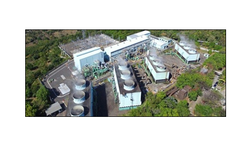 The 380th TURBODEN ORC PLANT  IS A GEOTHERMAL ONE FOR EL SALVADOR